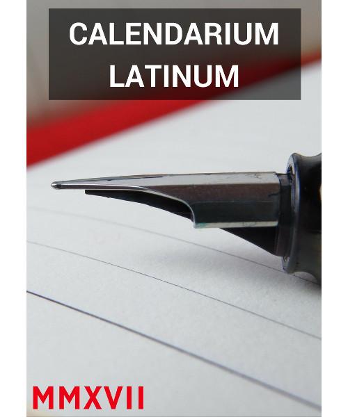 Kalendarz łaciński 2017