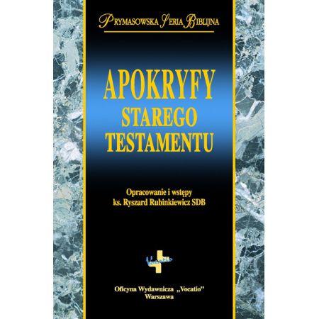 Ryszard Rubinkiewicz, Apokryfy Starego Testamentu