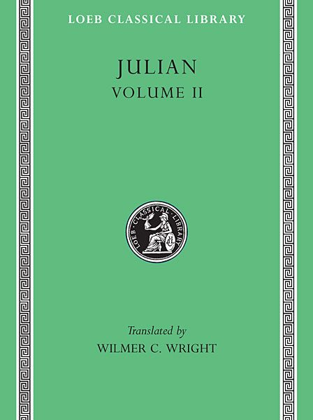 Julian Apostata: Mowy, Tom II