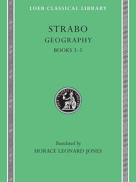 Strabon: Geografia, Tom II