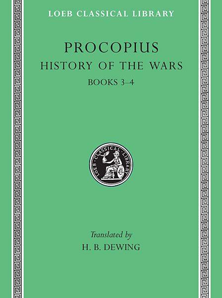 Prokopiusz: Historia wojen, Tom II