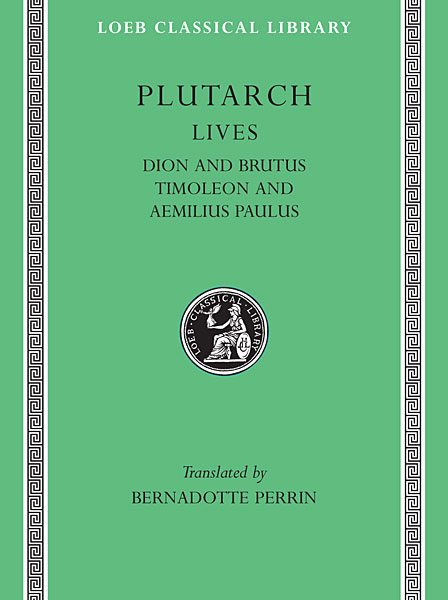 Plutarch: Żywoty, Tom VI