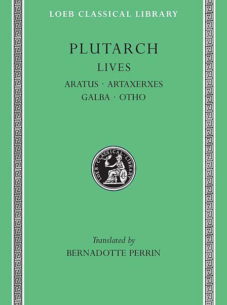 Plutarch: Żywoty, Tom XI
