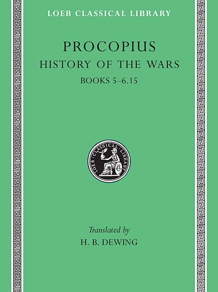 Prokopiusz: Historia wojen, Tom III
