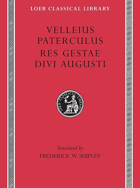 Wellejusz Paterkulus: Kompendium historii rzymskiej. Res Gestae Divi Augusti