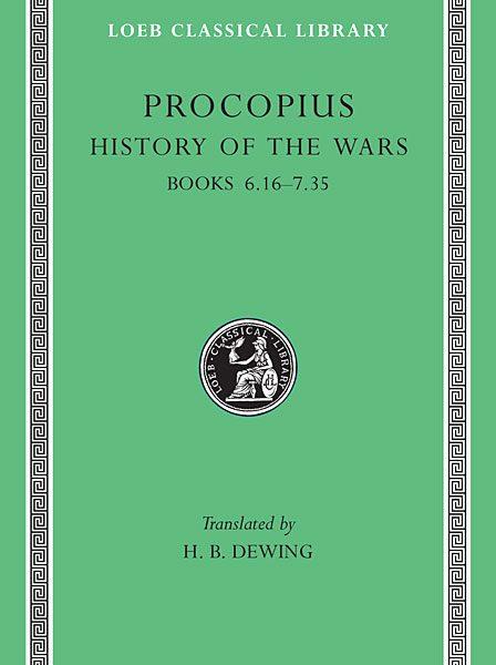 Prokopiusz: Historia wojen, Tom IV