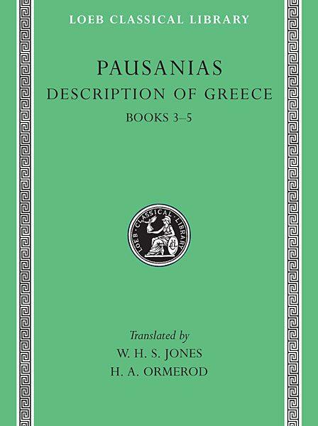 Pauzaniasz: Opis Grecji, Tom II