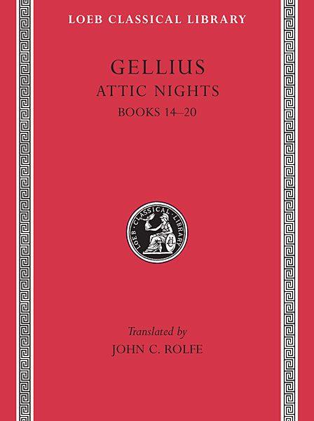 Gelliusz: Noce attyckie, Tom III