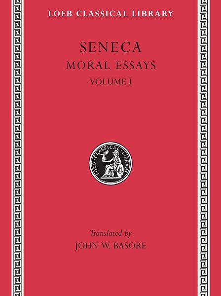 Seneka: Eseje moralne, Tom I