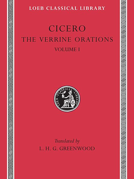 Cyceron: Mowy przeciwko Werresowi, Tom I