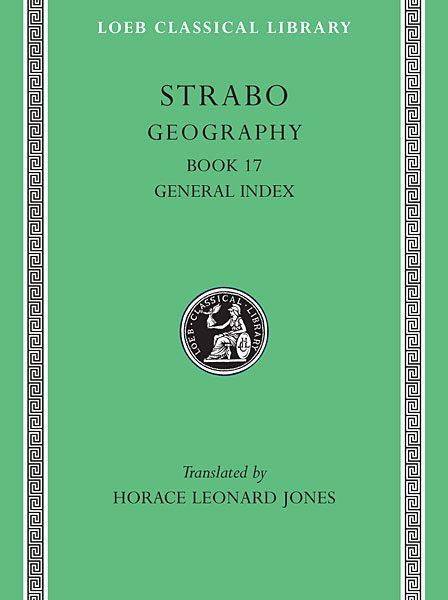 Strabon: Geografia, Tom VIII