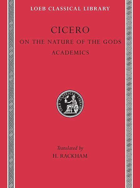 Cyceron: O naturze bogów. Akademiki