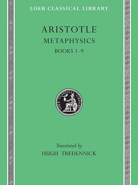 Arystoteles: Metafizyka, Tom I