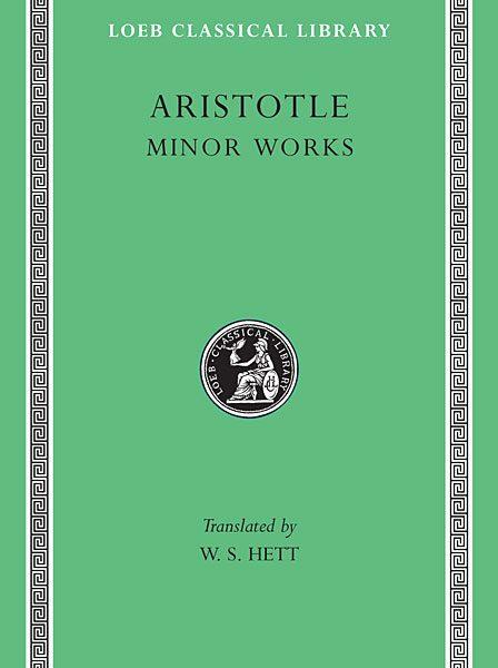 Arystoteles: Mniejsze prace