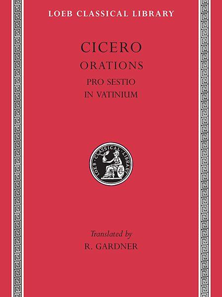 Cyceron: Pro Sestio. In Vatinium