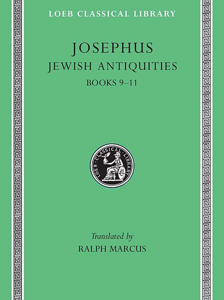 Józef Flawiusz: Starożytności żydowskie, Tom IV