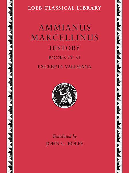 Ammianus Marcellinus: Historia, Tom III