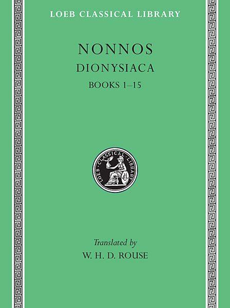 Nonnos: Dionysiaca, Tom I