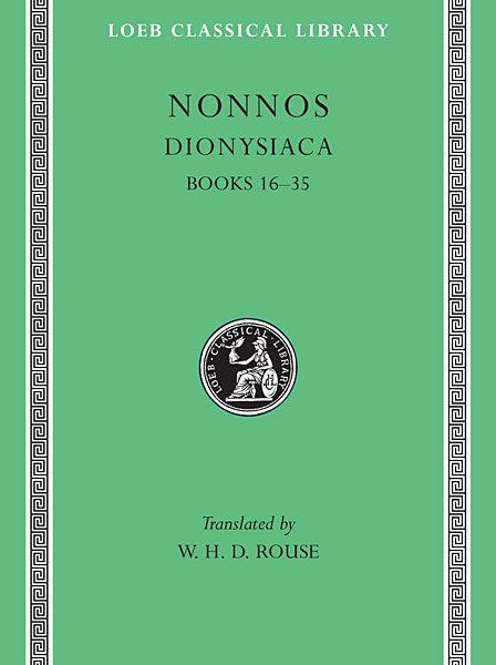 Nonnos: Dionysiaca, Tom II