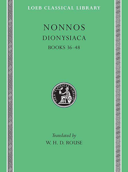 Nonnos: Dionysiaca, Tom III
