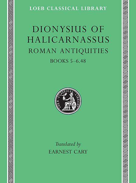 Dionizjusz z Halikarnasu: Starożytności rzymskie, Tom III