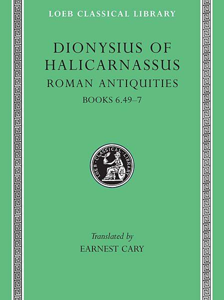 Dionizjusz z Halikarnasu: Starożytności rzymskie, Tom IV