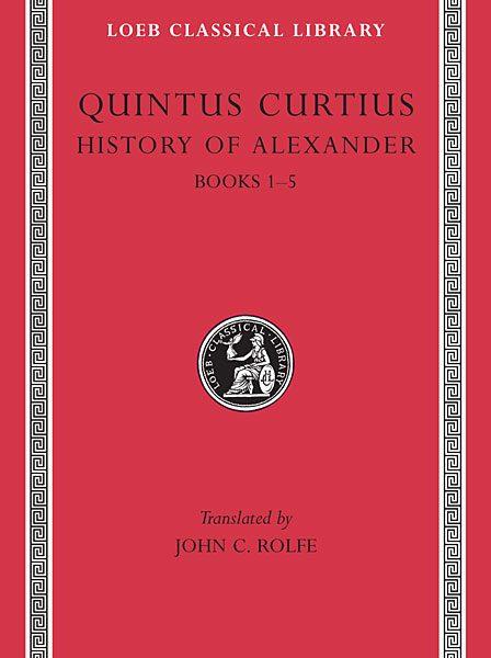 Kwintus Kurcjusz Rufus: Historia Aleksandra Wielkiego, Tom I