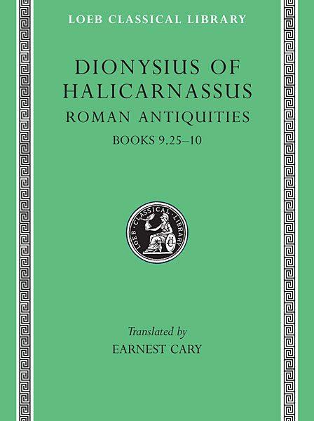 Dionizjusz z Halikarnasu: Starożytności rzymskie, Tom VI