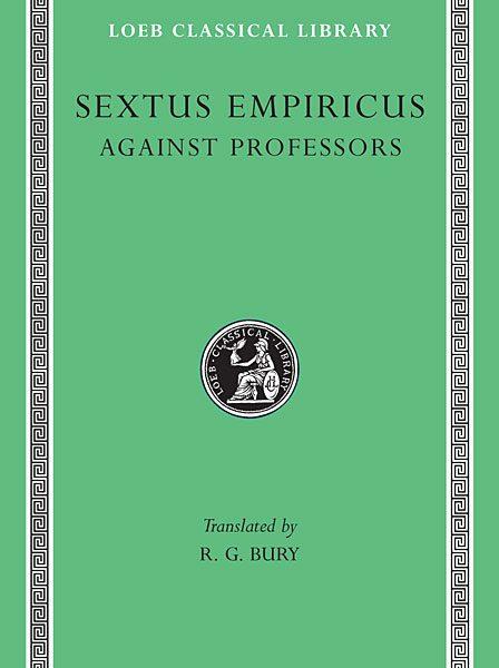 Sekstus Empiryk: Przeciwko uczonym