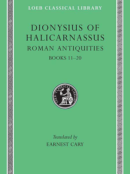 Dionizjusz z Halikarnasu: Starożytności rzymskie, Tom VII