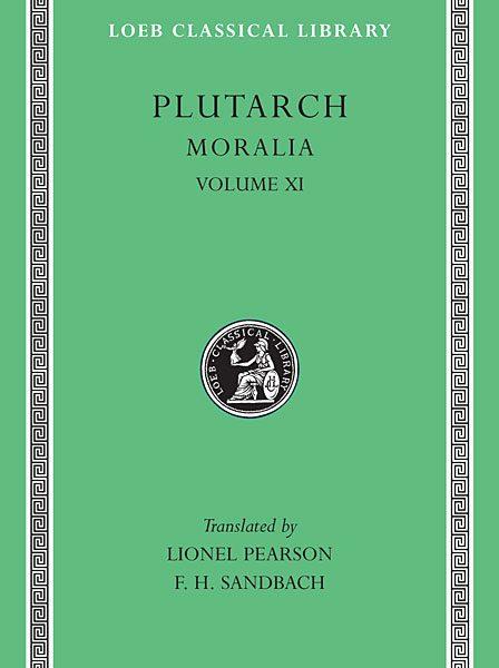 Plutarch: Moralia, Tom XI