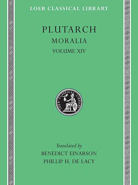 Plutarch: Moralia, Tom XIV