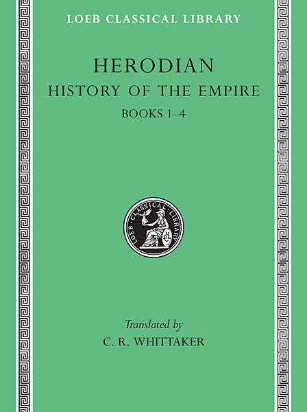 Herodian: Historia imperium, Tom I
