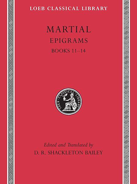 Marcjalis: Epigramy, Tom III