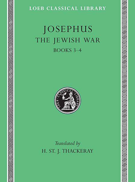 Józef Flawiusz: Wojna żydowska, Tom II