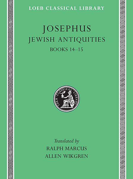Józef Flawiusz: Starożytności żydowskie, Tom VI