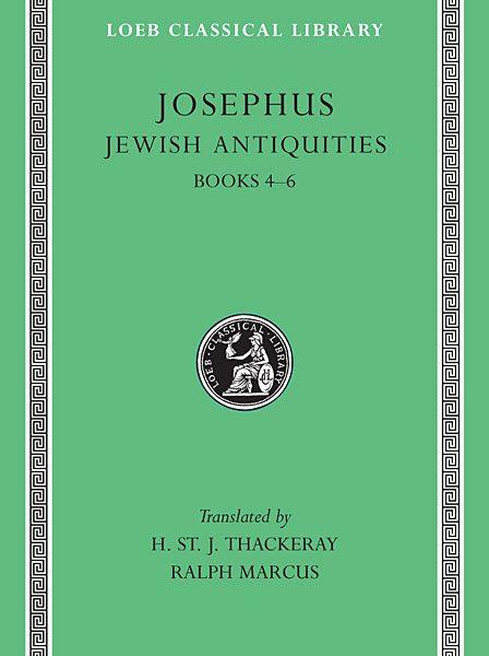 Józef Flawiusz: Starożytności żydowskie, Tom II