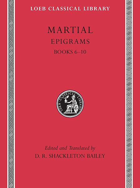 Marcjalis: Epigramy, Tom II