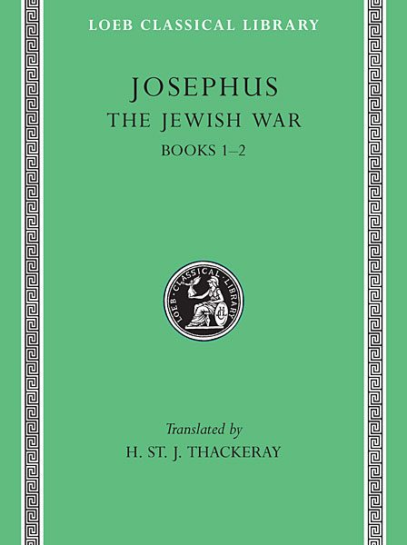 Józef Flawiusz: Wojna żydowska, Tom I