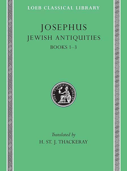 Józef Flawiusz: Starożytności żydowskie, Tom I