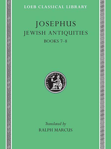Józef Flawiusz: Starożytności żydowskie, Tom III