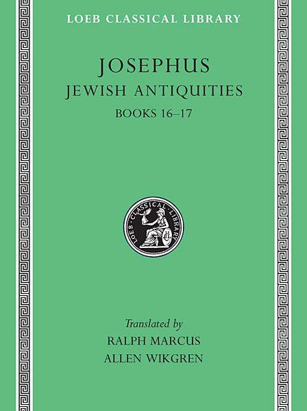 Józef Flawiusz: Starożytności żydowskie, Tom VII
