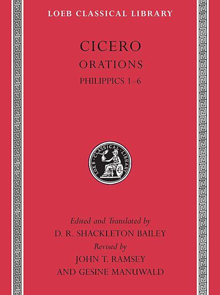 Cyceron: Filipiki 1-6
