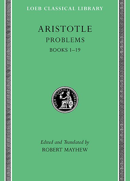 Arystoteles: Zagadnienia przyrodnicze, Tom I