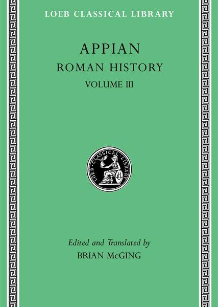 Appian: Historia rzymska, Tom III
