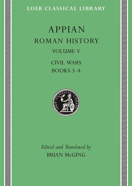 Appian: Historia rzymska, Tom V
